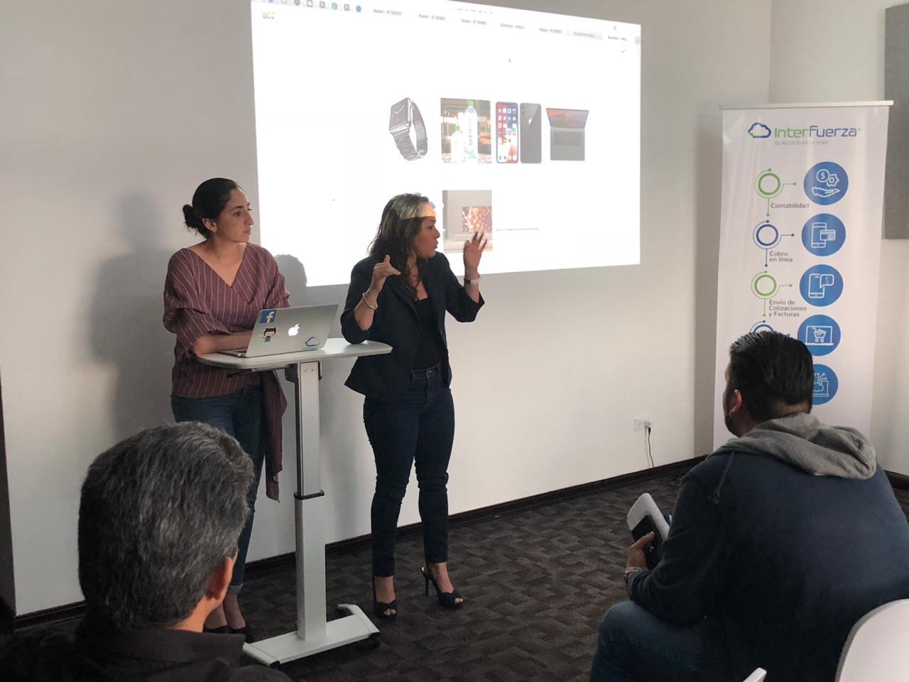 Expertos de MetroPago explicaron las soluciones integradas a la Tienda Virtual de InterFuerza